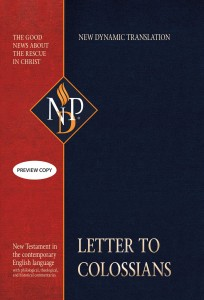 Letter to Colossians (NPD)